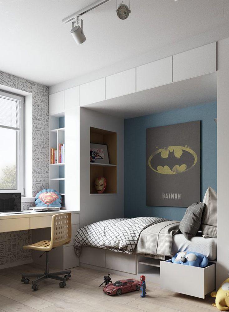 Superhelden Kinderzimmer Gestaltung Kinder zimmer