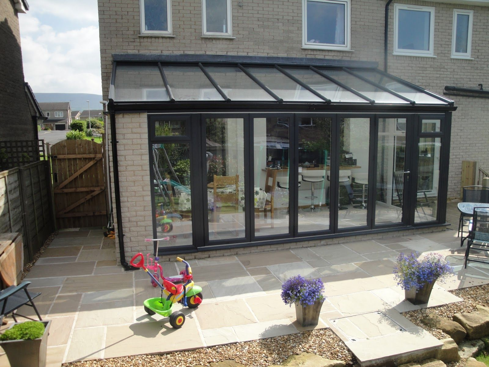 Replace Polycarbonate Conservatory Roof Cost Google Search Garden Room Extensions Room Extensions Conservatory Kitchen