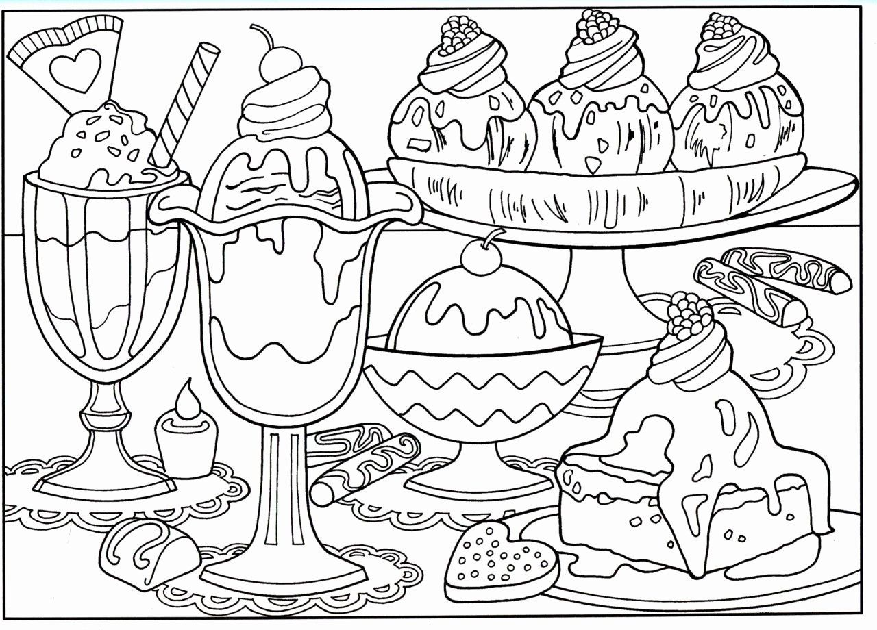 Printable Pictures Of Food To Color
