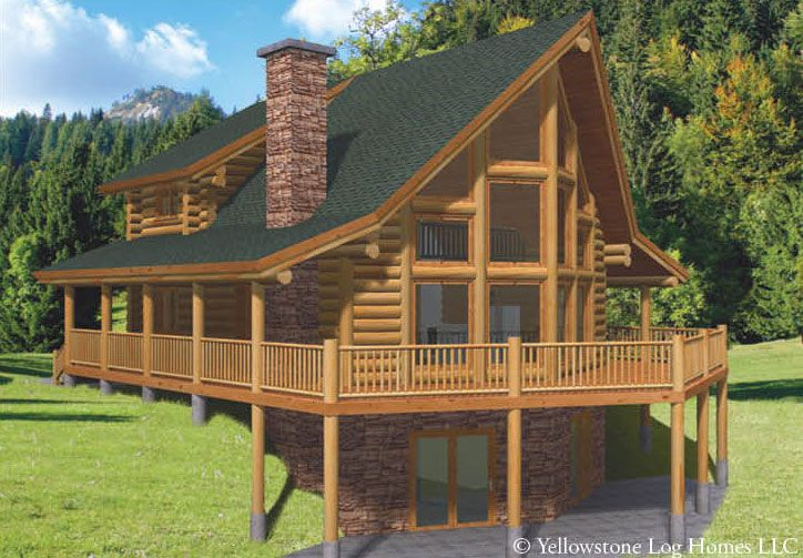 Log Home Packages Utah Idaho Wyoming Bear River Country Log Homes Log Home Kits Log Homes Vintage House Plans