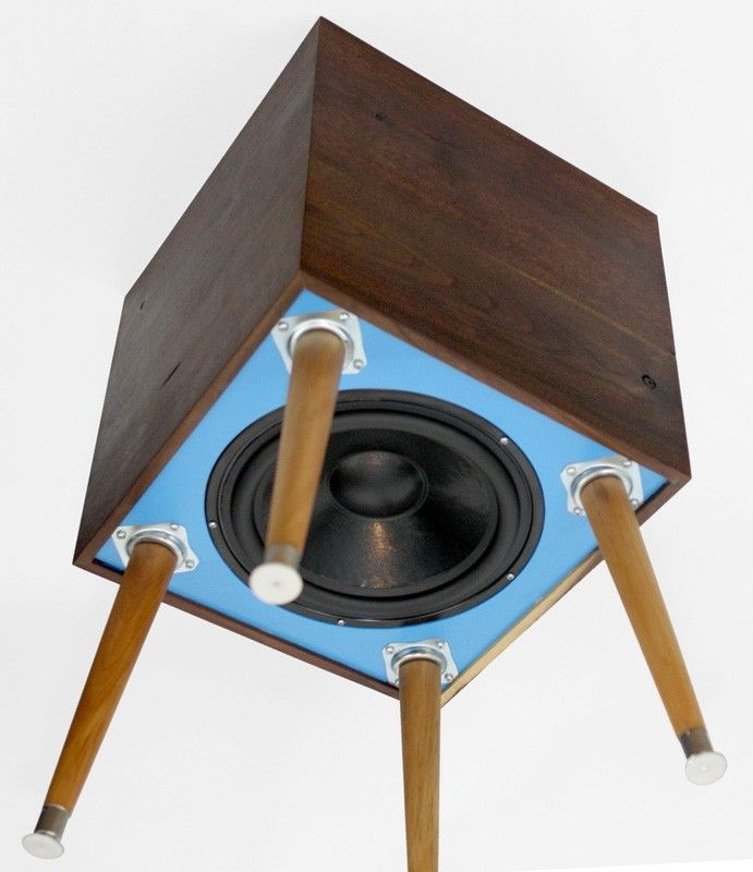 handmade blue heron subwoofer by bekerwerks design woodworking diy. Black Bedroom Furniture Sets. Home Design Ideas