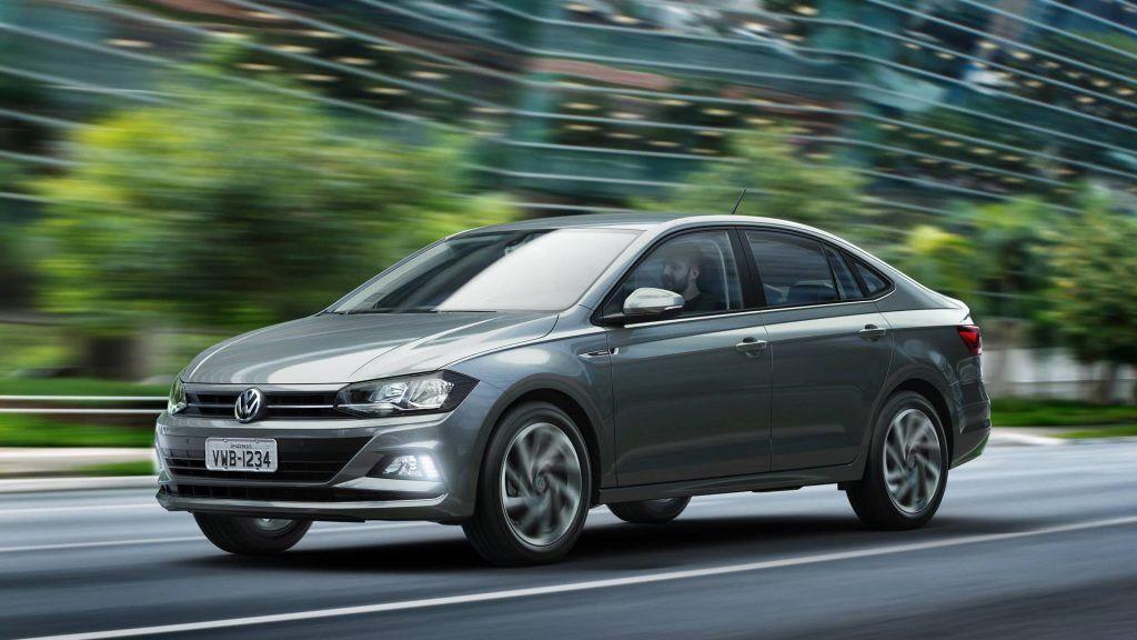 Vw Virtus Polo Based Sedan Launched In Brazil At Brl 59 990