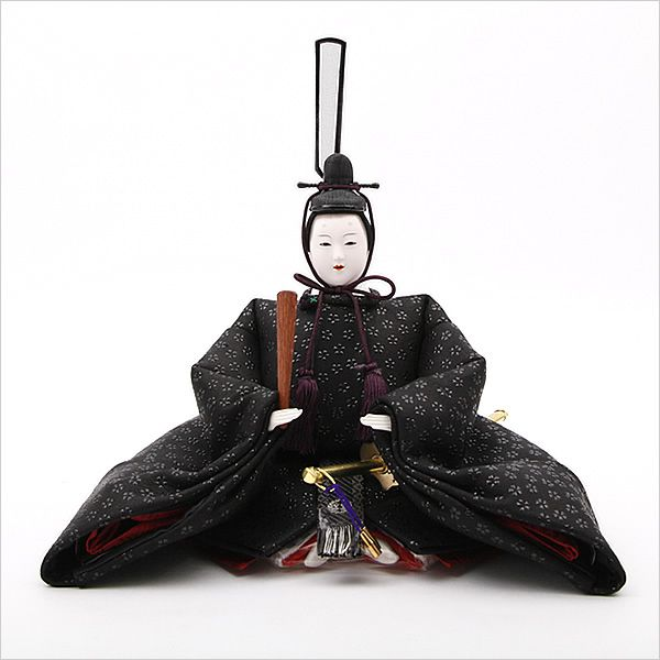 An emperor hina (Girls Day holiday) doll.