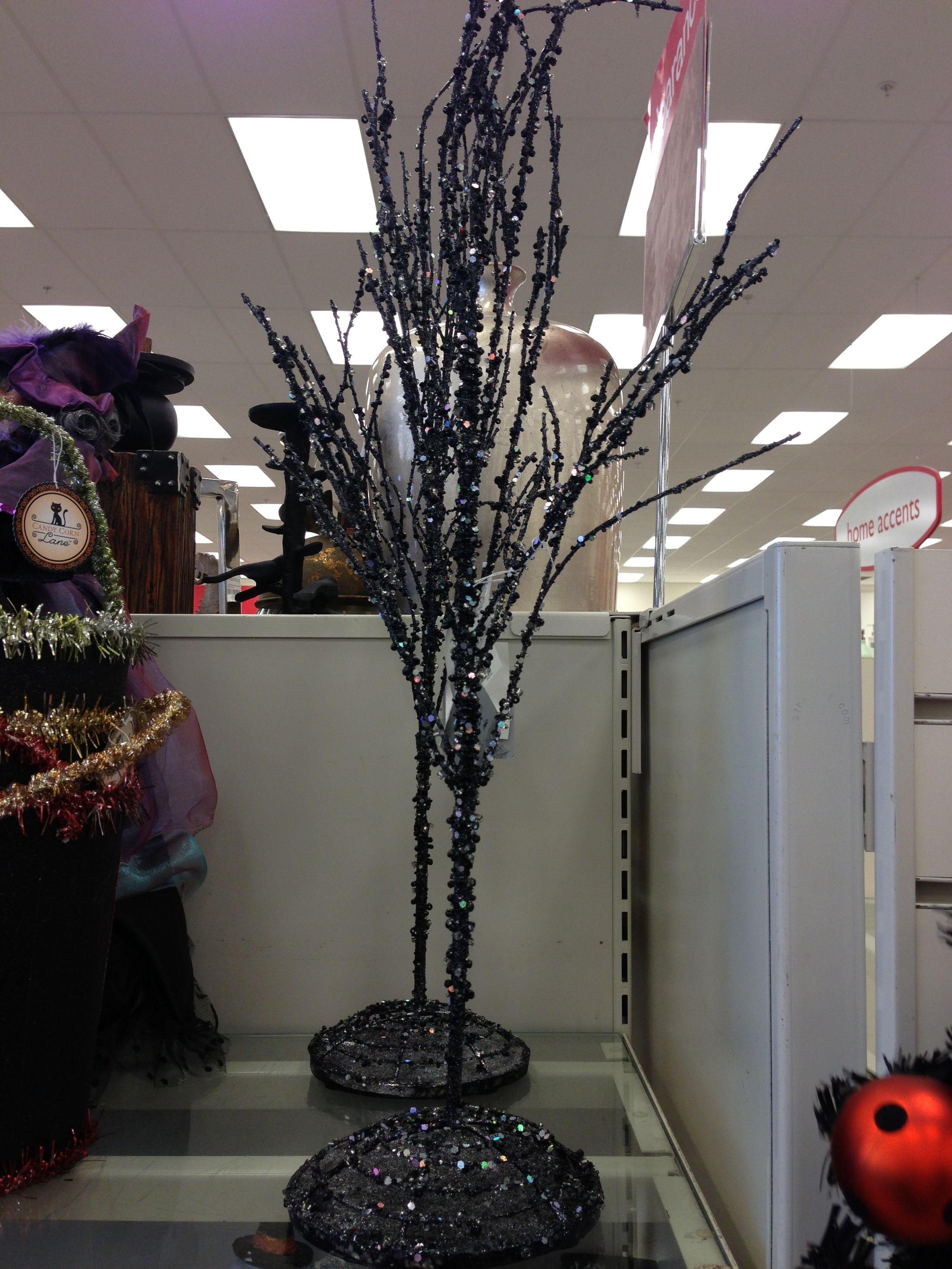 Black Glittery Halloween Tree Jane Cannings Canada