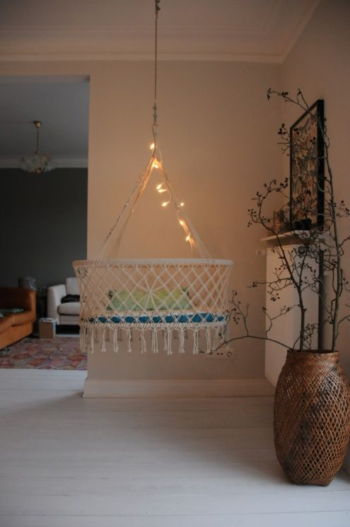trennvorhang zimmer, makramee hängewiege   macrame   pinterest   babies, baby zimmer and, Design ideen