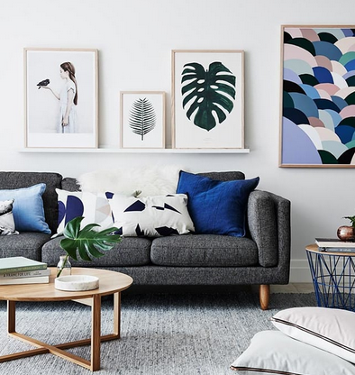Eclectic Modern Living Room Get The Look Use Promo Code Alinam