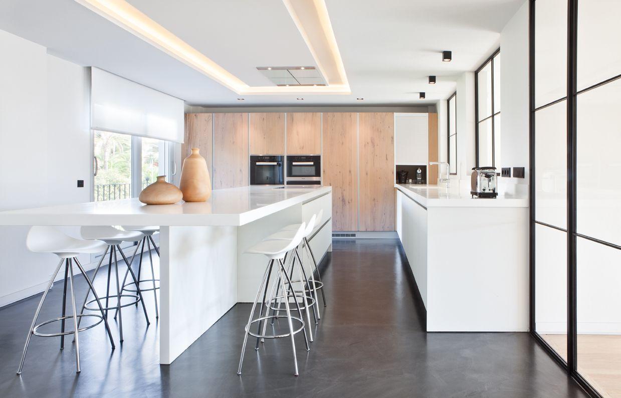 Cocinas moretti dise o de cocinas cocina con barra - Moretti cocinas ...