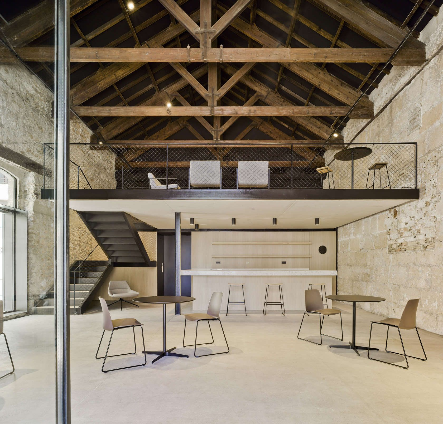 """Sometimes the fact of building is just about erasing layers. This is the basis of the project for the refurbishment of the """"Posito Pesquero"""". How to rediscov..."""