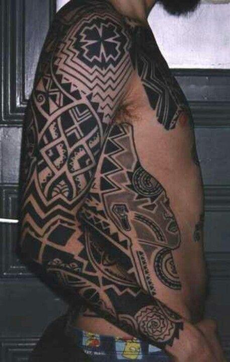 African Tribal Tattoo Half Sleeve: African Tattoo, Tribal Sleeve Tattoos