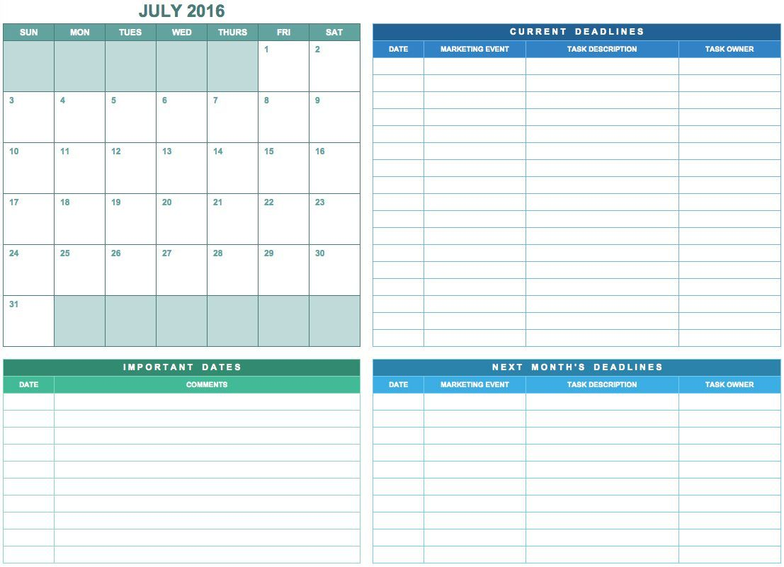 Annual Marketing Calendar Template For Excel Free Download Tipsographic Event Planning Calendar Marketing Calendar Marketing Calendar Template