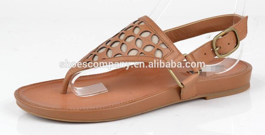 5ef0599b7468e1 Laser Carving Design Thong Sandal Flip Flop Comforer Set Ladies Flat Shoes  Photo