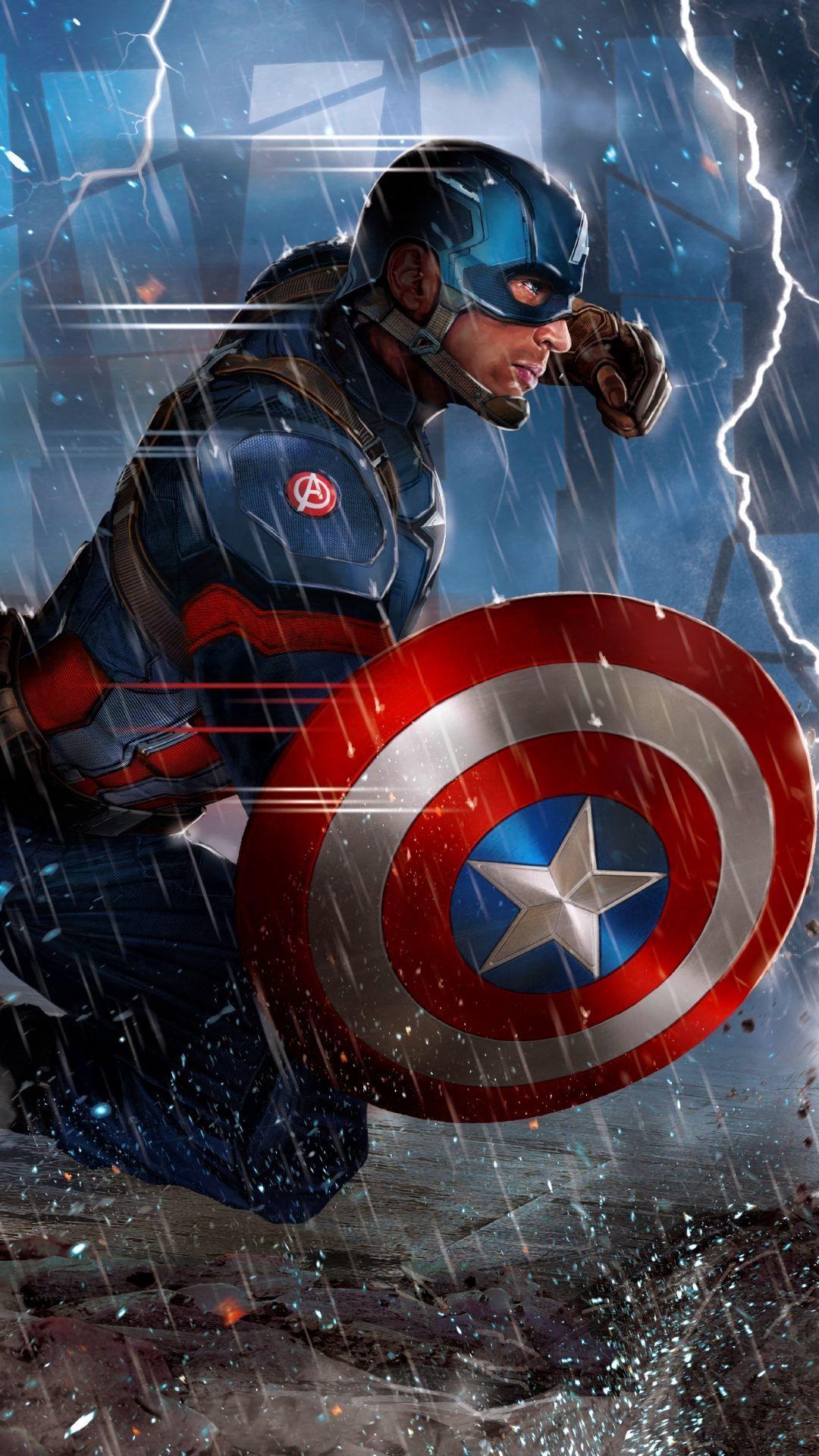 Captain America Android Iphone Desktop Hd Backgrounds Wallpapers 1080p 4k 118643 Hdwallpap Captain America Wallpaper Marvel Captain America Marvel