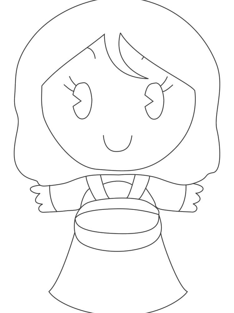 Printable Disney Princess Cuties Coloring Pages Great Princess Cuties Coloring Page To Download In 2020 Cartoon Coloring Pages Coloring Pages Coloring Pages To Print