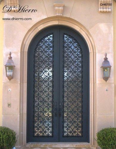 Iron Doors Exterior Mediterranean Front Doors Dallas By D