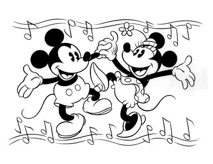 Dibujos Para Colorear Disney 10 Dibujos Para Colorear Para Ninos