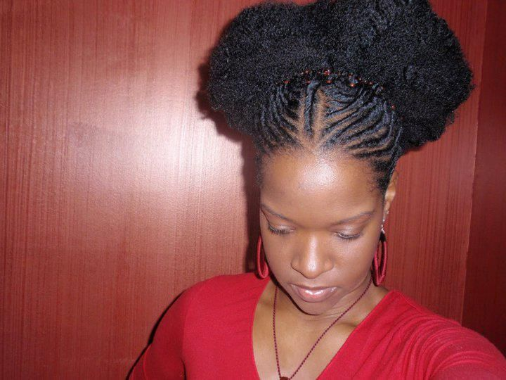 Afro Updos - Natural Notts