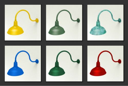 From A Simple Source Of Light Into A Chic Architectural Lighting Fixture Gooseneck Lig Architectural Lighting Fixtures Exterior Lighting Exterior House Lights