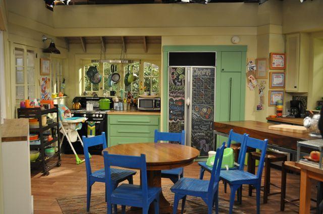 Good Luck Charlie Tv Show Set Disney Kitchen Good Luck Charlie