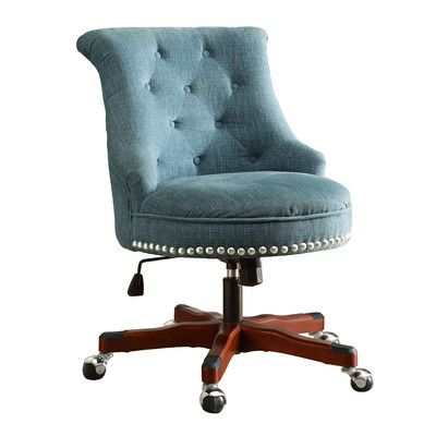 office chair upholstery. alcott hill cleveland mid-back desk chair upholstery color: office