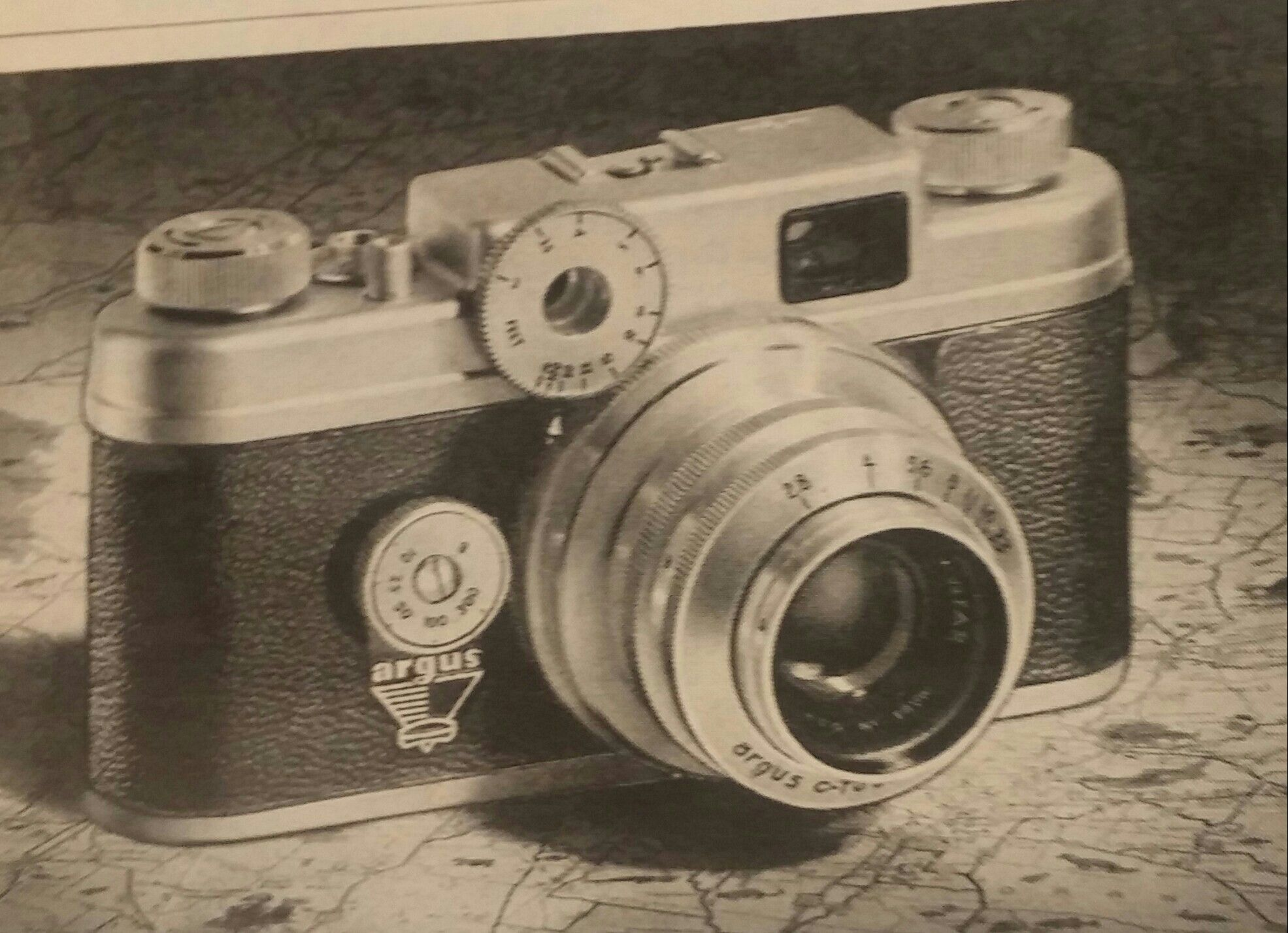 Camera Issue of Time 1954
