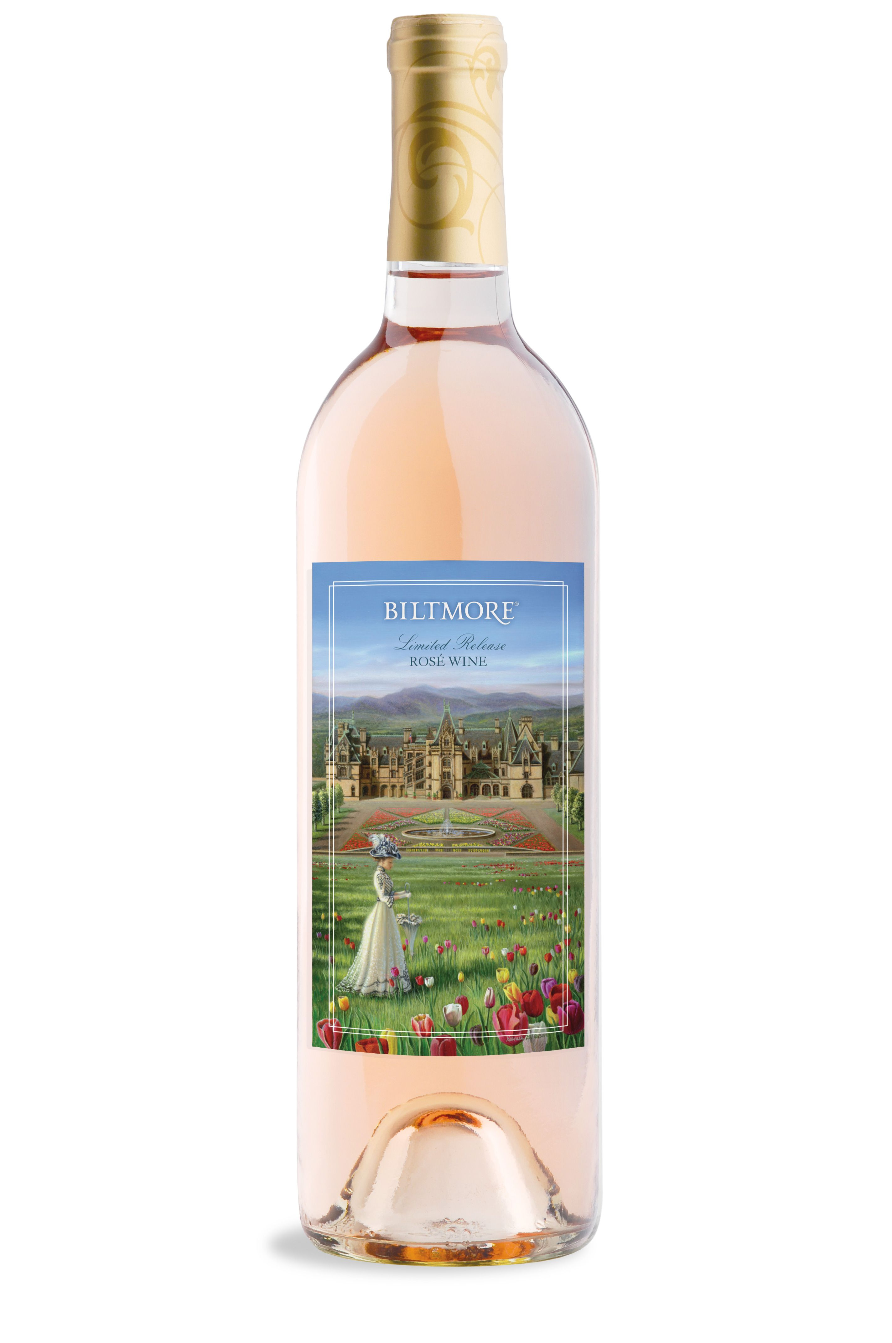 #Biltmore's Spring Rosé, featuring fruit-forward notes of lime and strawberry.