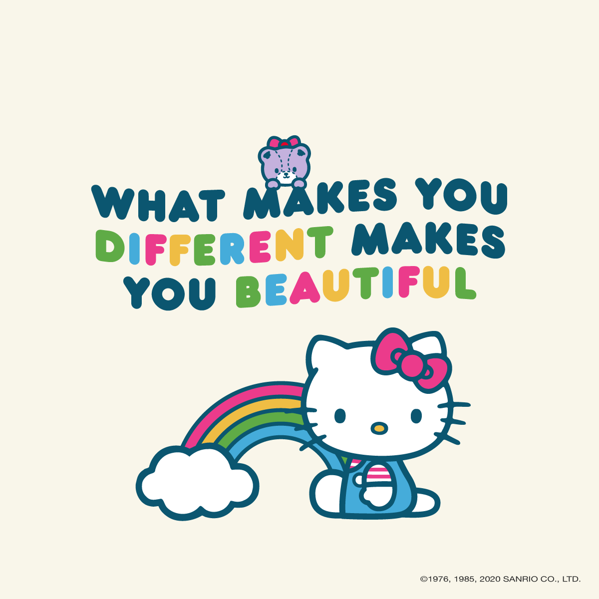 Halloween Imgaes 2020 What Makes You Different Makes You Beautiful in 2020 | Hello kitty