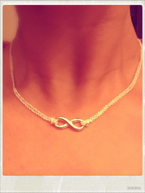 3f0bcb58d I LOVE my Tiffany Infinity Necklace :) | Products I love! in 2019 ...