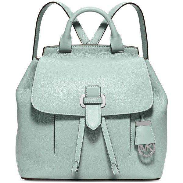 f5c883643f32 ... sale michael michael kors romy medium backpack 398 liked on polyvore  featuring bags backpacks celedon knapsack