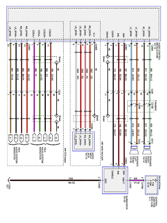 1999 Ford F 150 Radio Wiring Harness Diagram