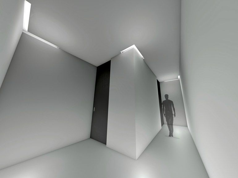 Luminária de embutir LED de alumínio com luz indireta BLANK! | Luminária de embutir - LUCIFERO'S