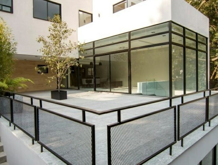 Variantes Pas Cher Pour Choisir La Balustrade Exterieure Balustrade Exterieure Exterieur Maison Moderne