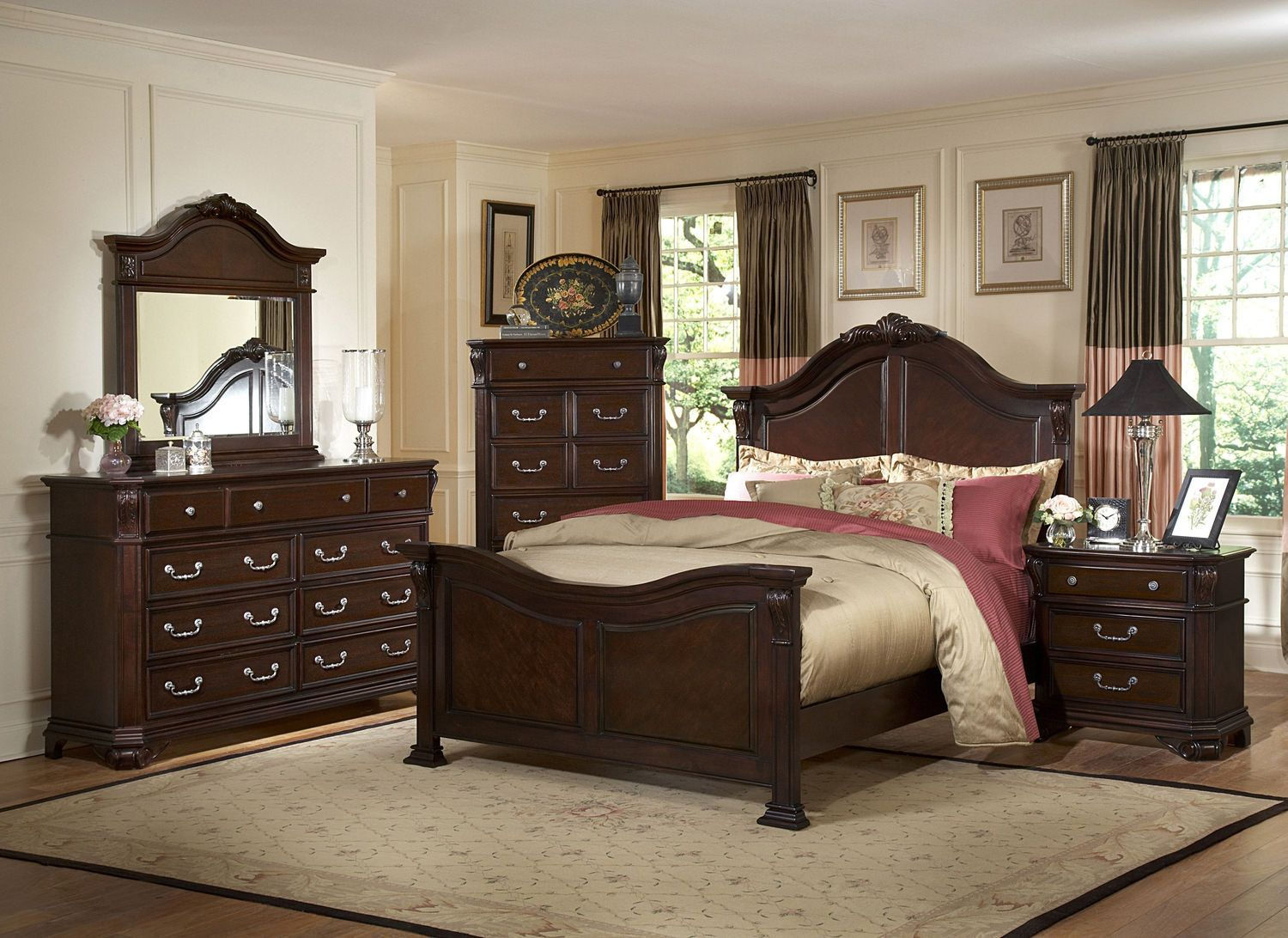 Emilie queen bedroom set for the home dream home pinterest