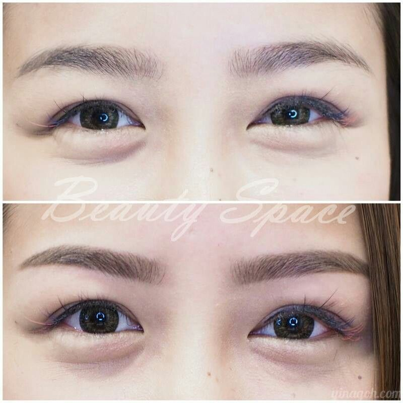 Before and after eyelash extension. www.beautyspace.com.sg ...
