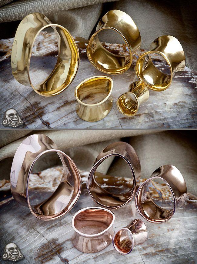 e17076bbe Gold Plated Teardrop Eyelets | Jewelry | Plugs earrings, Teardrop plugs,  Tunnels, plugs