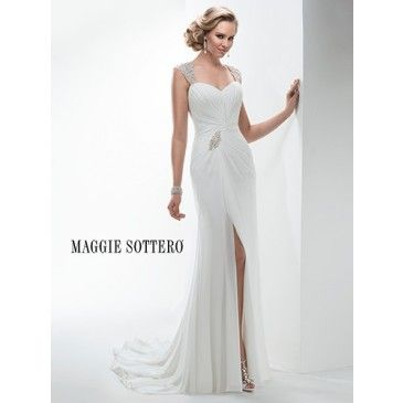 Maggie Sottero Ezra 4MT939 - [Maggie Sottero Ezra] - Buy a Maggie Sottero Wedding Dress from Bridal Closet in Draper, Utah