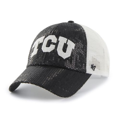 best sneakers cc2c0 884d8 Image for Forty Seven Women s Texas Christian University Dazzle Mesh Clean  Up Cap from Academy