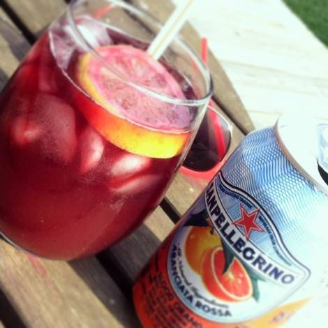 Blood Orange Red Sangria Recipe by Dan Krause