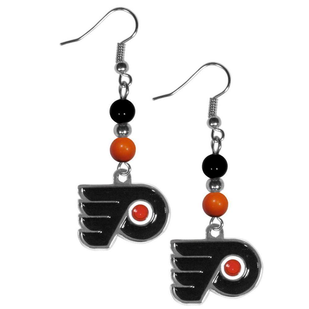 Philadelphia Flyers® Fan Bead Dangle Earrings HBDE65
