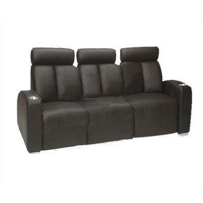 Bass Ambassador Home Theatre Sofa (Row of 3) | Wayfair.ca