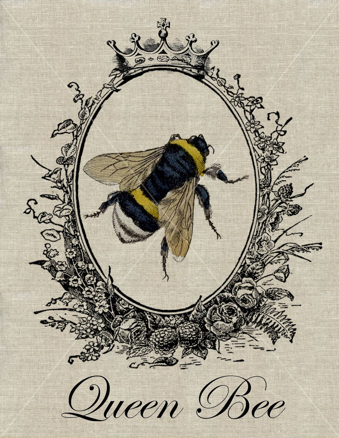 Fake Receipts To Print Pdf Queen Bee  Vintage Bumblebee Fabric Transfer Download  Buy  Get  Can You Return Stuff To Walmart Without A Receipt with Receipts Samples Queen Bee  Vintage Bumblebee Fabric Transfer Download  Buy  Get  Free  Via Invoice Books With Company Logo Excel