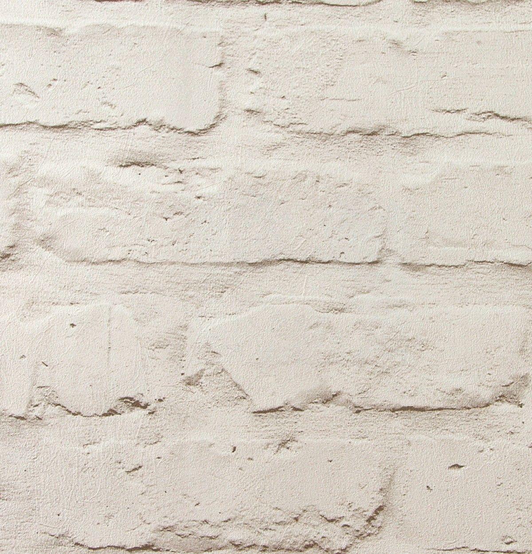 f65d2c6075ddd Papel pintado ladrillo blanco relieve - Acra 1. Acra 1