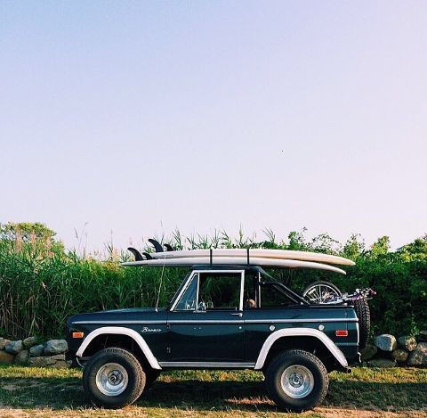 Favorite Things Friday Dream Cars Surfing Bronco