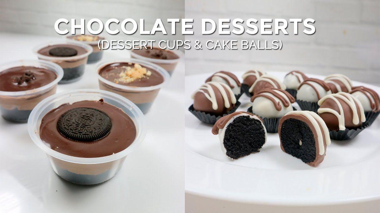 Bikin Dessert Cup Cake Balls Dari Cake Kering Overbaked Retak Sisa R Resep Recipe Resepkue Desser Hidangan Penutup Makanan Penutup Coklat Cake Ball