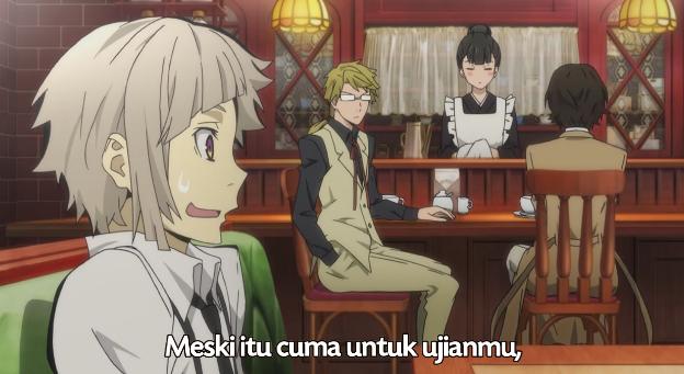 Bungou Stray Dogs episode 3 subtitle indonesia, anime1080p