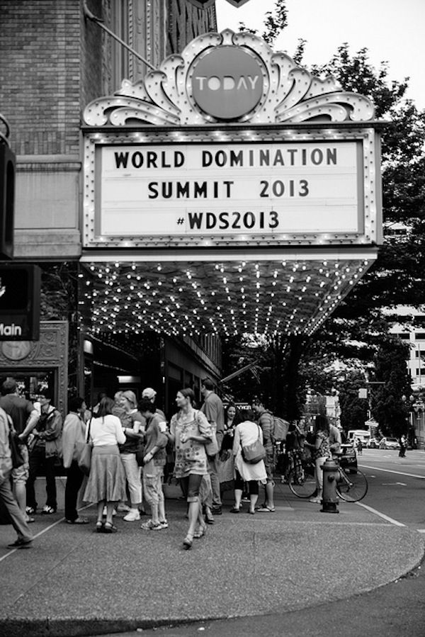 World Domination Summit Blog Conference 2013 - Get Inspired!
