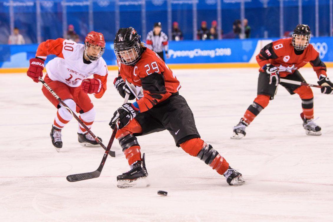 The Dream Hockey tournaments, Team canada, Women's hockey
