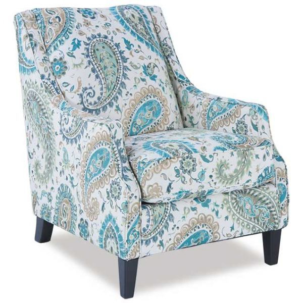 Cool Lochian Paisley Accent Chair Cool Decor Blue Accent Andrewgaddart Wooden Chair Designs For Living Room Andrewgaddartcom