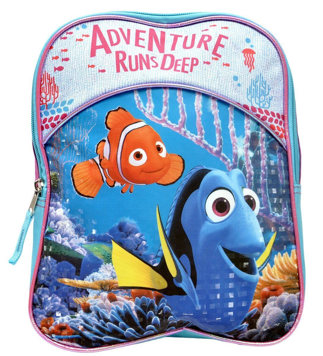 Finding Dory Nemo Adventure Preschool 11 Mini Backpack