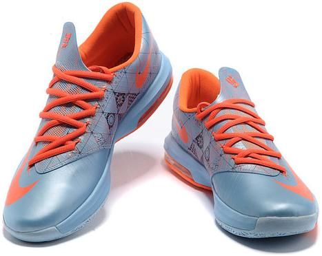 sale retailer 3e2a0 f6b3a http   www.asneakers4u.com  Nike Zoom KD 6 Ice Blue Orange3
