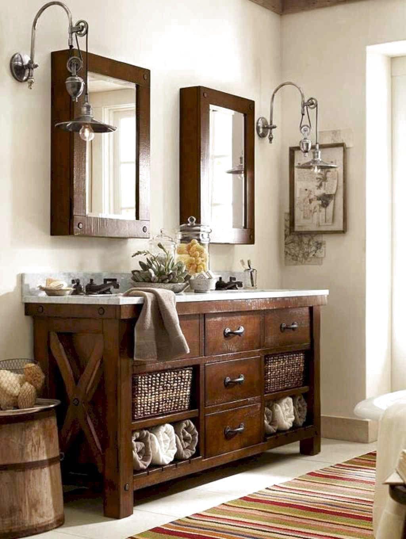 80 favourite farmhouse bathroom decor ideas home